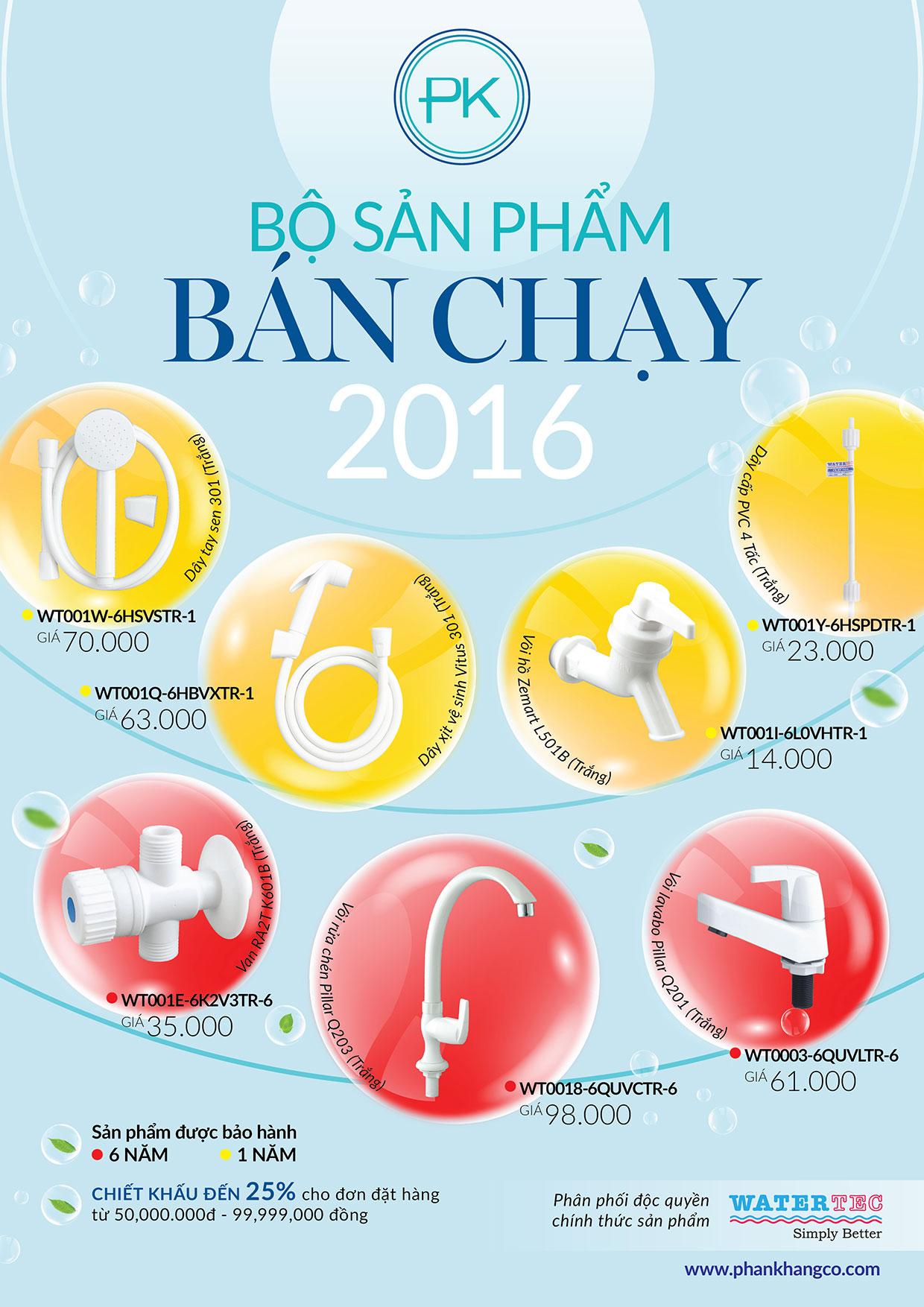 san pham watertect ban chay nam 2016