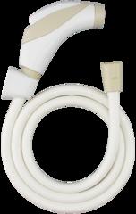 WT001T-6HBVXTK-1 Dây xịt vệ sinh trắng kem Vitus 201