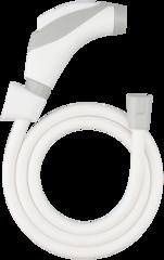 WT001U-6HBVXTX-1 Dây xịt vệ sinh trắng xám Vitus 201