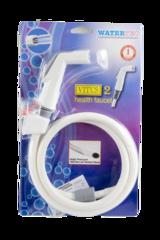 WT002H-6HBVXTX-1 Dây xịt vệ sinh trắng xám Vitus 401 (vĩ)