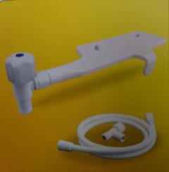 WT003L-7ABBXTR-1 Bệ xịt vệ sinh kháng khuẩn tay vặn E202